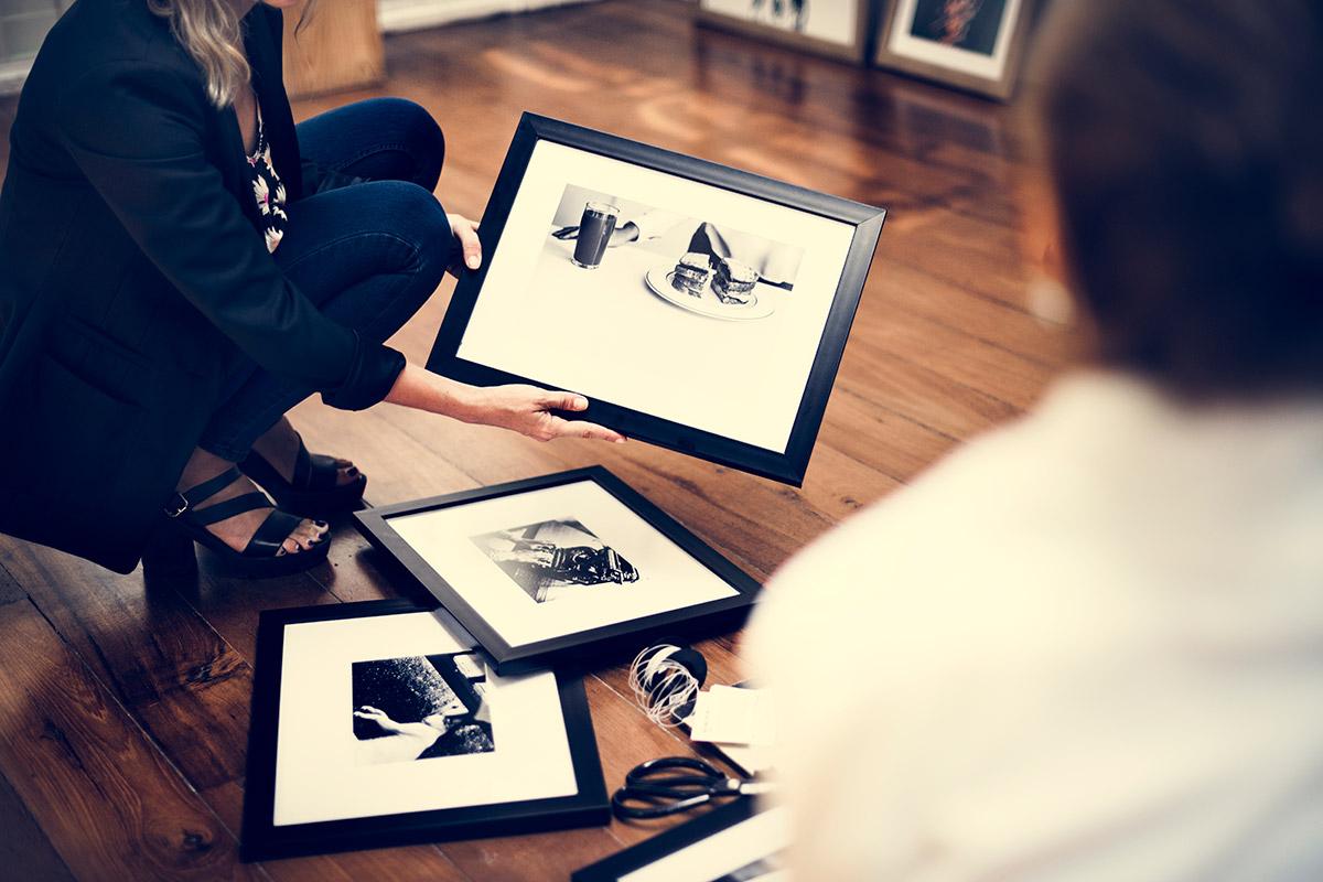 cornici per photo booth